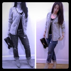 Sweewe Paris Jackets & Blazers - Chanel style sequin sweater jacket from Paris New