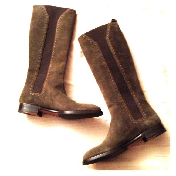 b0b145b1704 Yves Saint Laurent Shoes   Ysl Hyde Riding Boots   Poshmark