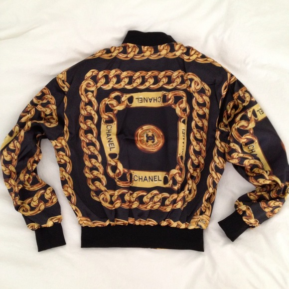 CHANEL - Vintage Chanel bomber jacket from Jeremy's closet on Poshmark
