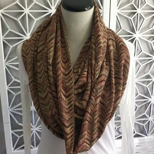 Missoni Accessories - Missoni (Target) Metallic Chevron Infinity Scarf