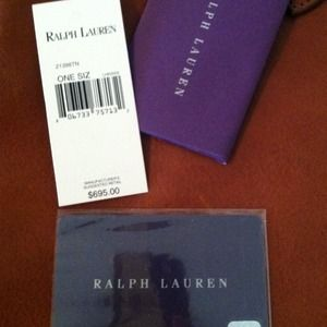 Ralph Lauren Bags - Reserved for @haleyh 2