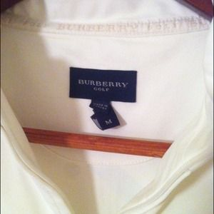 Burberry Tops - Burberry Golf Shirt