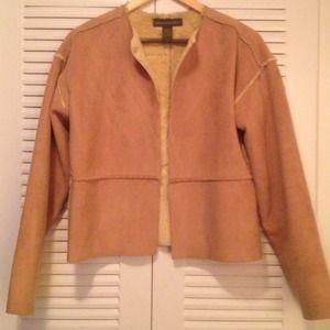 💥REDUCED💥Shearling Like Tan Jacket