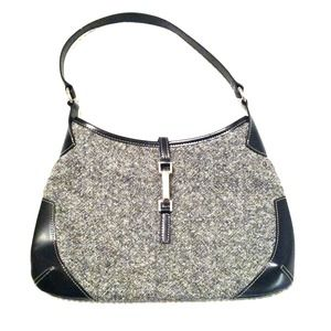 Reserved @elliel422 Ann Taylor Tweed/Leather Purse