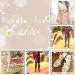 CANCELEDSpecial reserved bundle for laise