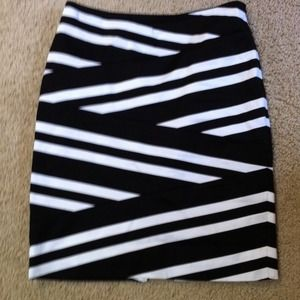 White House Black Market Dresses & Skirts - SOLD!!!!! Black and White skirt