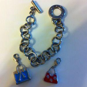 dooney bourke charm bracelet on poshmark