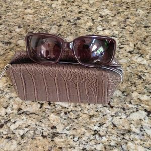 Marc by Marc Jacobs purple sunnies