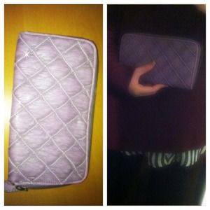 Deux Lux Clutches & Wallets - Deux Lux quilted purple wallet