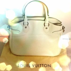Louis Vuitton Handbags - $1,550 LOUIS VUITTON Ivory Passy Epi Purse