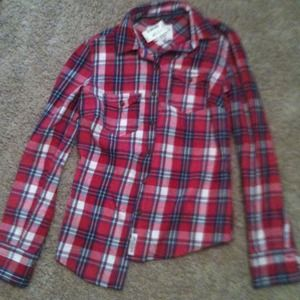 20 Off Tops Plaid Grey White And Yellow Flannel Shirt