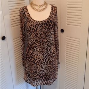 ⬇️Leopard Dress by Nasty Gal x Minx..