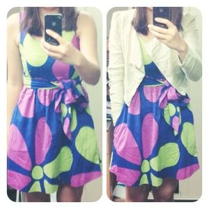 boutique Dresses & Skirts - 🆕Purple and with green details dress