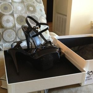 YSL shoes- black patent