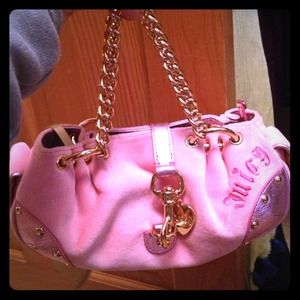 Juicy Couture Handbags - 🔥RESERVED 🔥Juicy Couture Pink Small Tote Bag