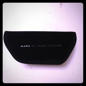 Black Velvet Marc Jacobs Sunglasses Case