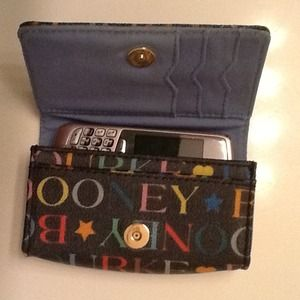 Dooney & Bourke Clutches & Wallets - *reserved for @mrsbryan05* D&B phone & card holder