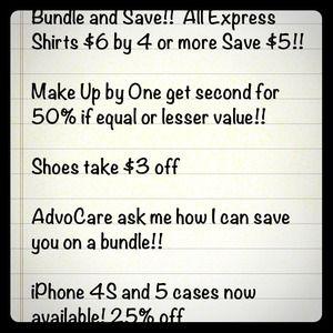 Other - Sale! Bundle!!!