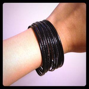 Jewelry - BLACK BANGLES