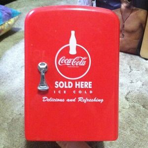 Coca cola mini fridge for sale