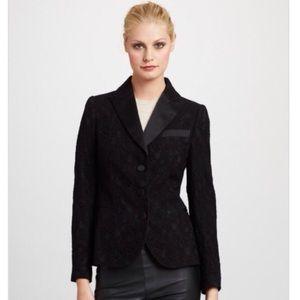 NWT❣ $885 Love Moschino Lace Blazer w/Satin Trim