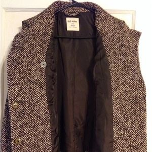 Old Navy Jackets & Coats - NWT Old Navy Herringbone Peacoat