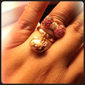 Sanrio Accessories - Hello Kitty 2 Ring Set
