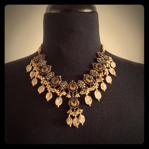 Vintage custom jewelry necklace and earrings