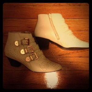 Reduced Jeffrey Campbell starburst studded booties