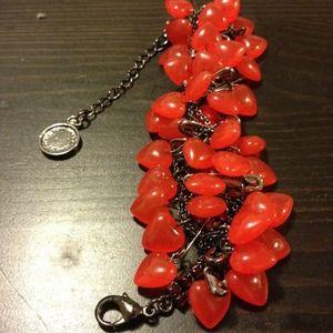 Reserved - Tom Binns for Disney heart bracelet.