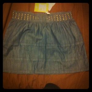 Juicy Couture Denim - Juicy couture jean mini skirt sz 30