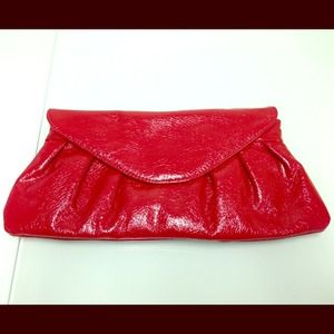 Red Forever 21 clutch