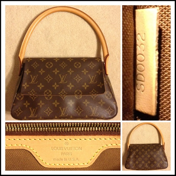 12db3f423 Louis Vuitton Handbags - LOUIS VUITTON MONOGRAM MINI LOOPING BAG