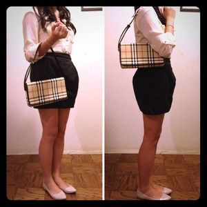 Burberry Handbags - RESERVED for @fashionista403 -BURBERRY HANDBAG