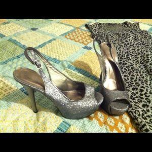 Shoes - Glitter heels