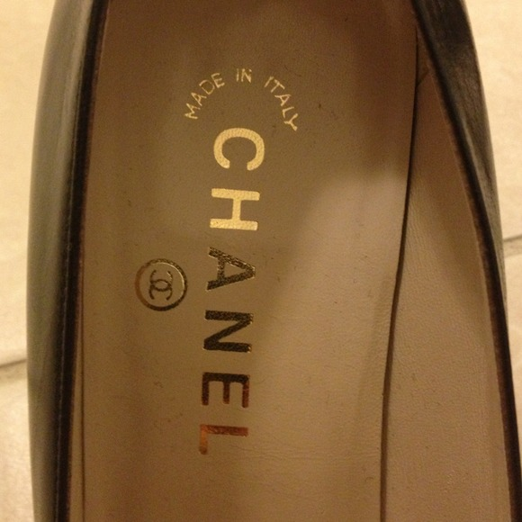 "CHANEL Shoes - Chanel dark brown 3"" heels in good condition 3"