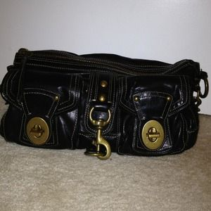 ***REDUCED***Authentic leather Coach bag