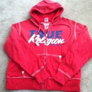 True Religion Jackets & Blazers - *RESERVED**TRUE RELIGION ZIP UP HOODIE FOR MEN
