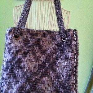 Zara wool bag and fun purse