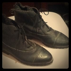 Boots - Vintage Leather Booties