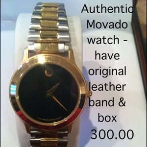 Authentic Movado Museum watch