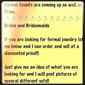 Jewelry - Gorgeous Formal Jewelry for any event
