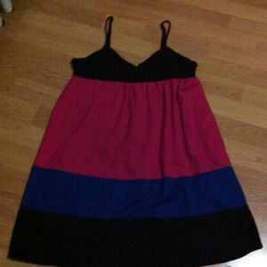Dresses & Skirts - Colorblock dress
