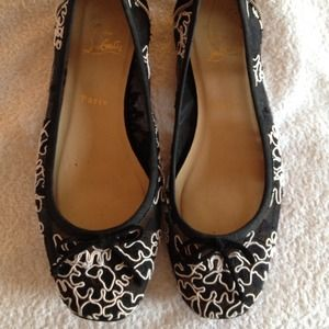 Christian Louboutin Shoes - Price Reduced--Christian Louboutin ballet flats.