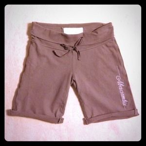 Abercrombie & Fitch Pants - ABERCROMBIE & FITCH BROWN LOUNGE SHORTS