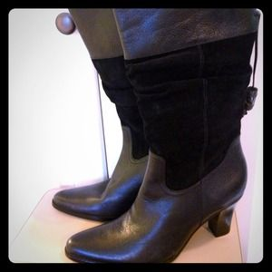 a n a Shoes - BRAND NEW LEATHER BOOTS