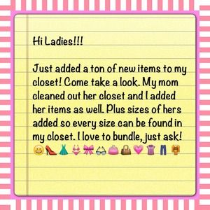 Accessories - Tons of stuff!! Every size!!