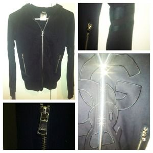 Dolce & Gabbana Jackets & Blazers - D&G Black jacket with hoodie
