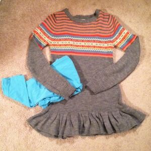 Sweaters - Youth Sweater Dress & Coordinating Leggings