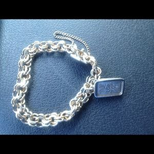Jewelry - 12k gf bracelet with 1 gr silver ingot